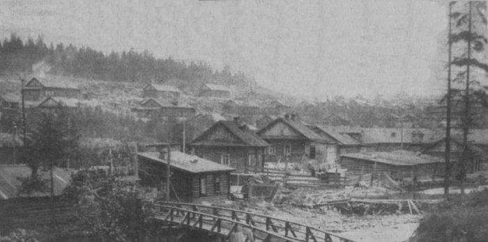 Бараки рабочих Дата начало XX века