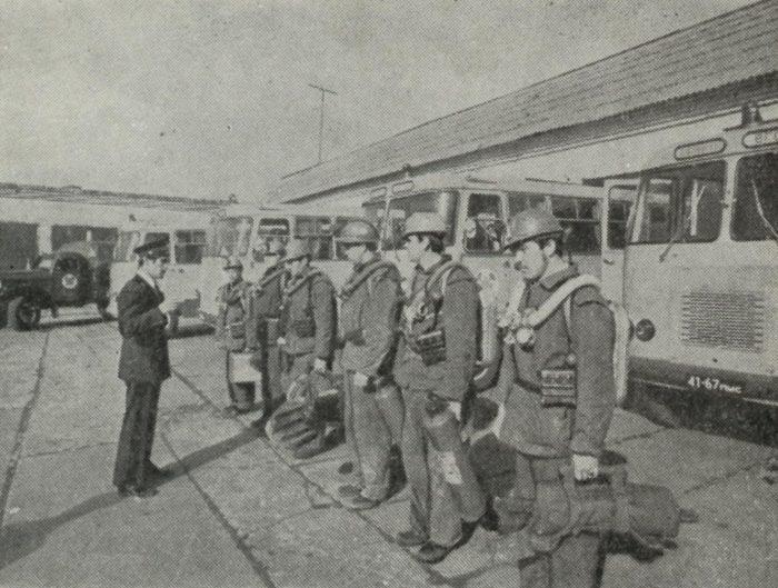 Горноспасательная бригадаДата 70-е годы XX века