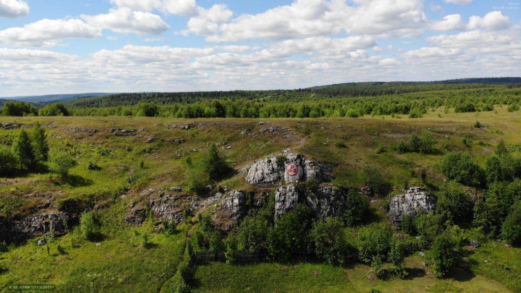 Белый камень. Фото: Андрей Итаев.