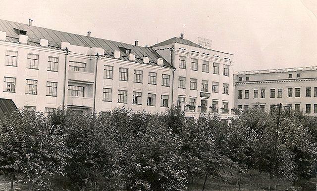 Кизеловская гостиница 1960