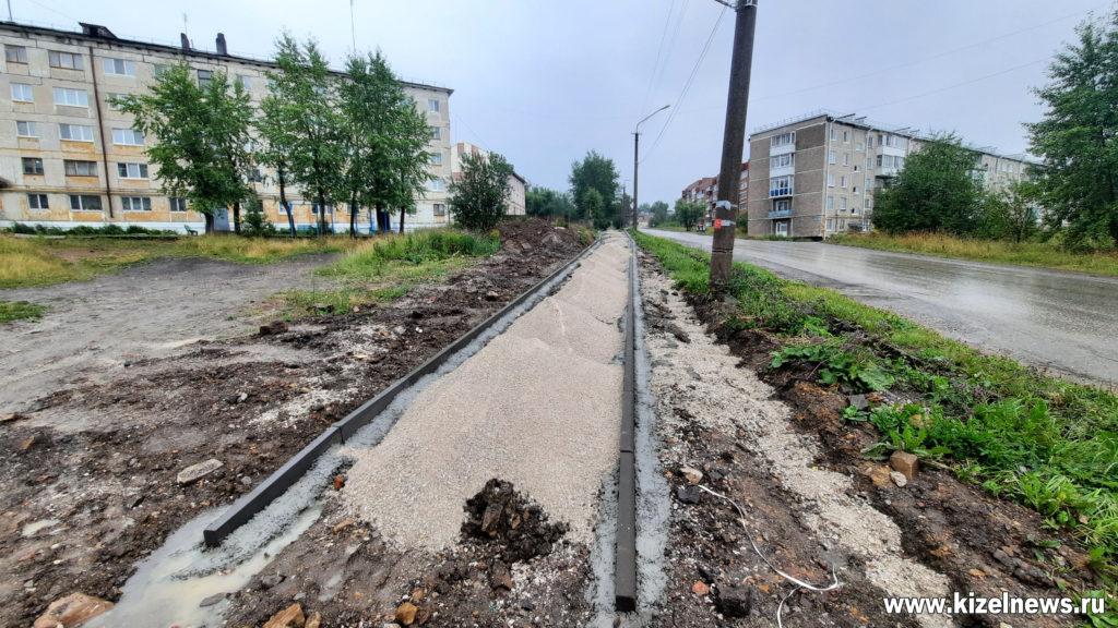 Тротуар по улице Пролетарская