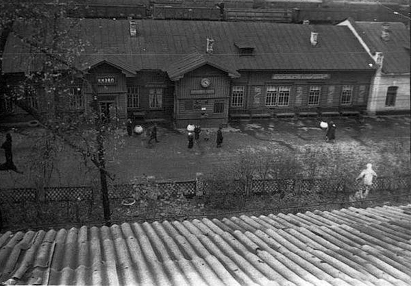 Вид на вокзал1960