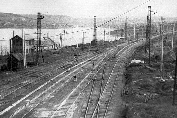 Вид с кизеловского моста