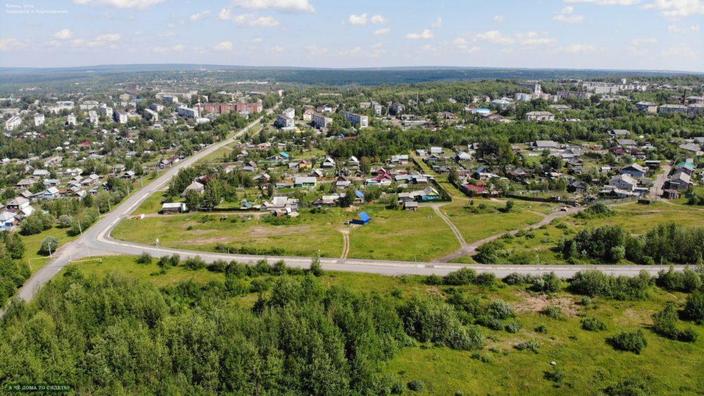 Новая деревня с высоты птичьего полета. Фото: Андрей Итаев